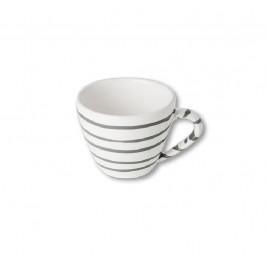 Gmundner Keramik Graugeflammt Cappuccino-Obertasse 0,16 L / h: 6,8 cm