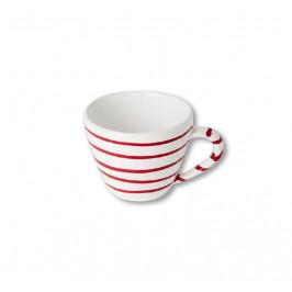 Gmundner Keramik Rotgeflammt Cappuccino-Obertasse 0,16 L / h: 6,8 cm