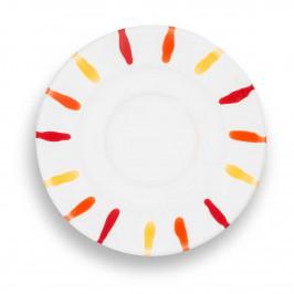 Gmundner Keramik Landlust  Mokka-/Espresso-Untertasse Gourmet d: 11 cm
