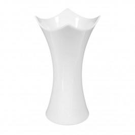 Königlich Tettau Jade weiß Vase h: 19 cm