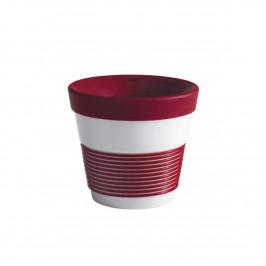 Kahla cupit - Magic Grip dark cherry To Go Becher 0,23 L mit Trinkdeckel 10x2 cm