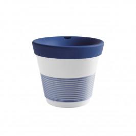 Kahla cupit - Magic Grip deep sea blue To Go Becher 0,23 L mit Trinkdeckel 10x2 cm