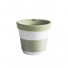 Kahla cupit - Magic Grip fresh herbs To Go Becher 0,23 L mit Trinkdeckel 10x2 cm
