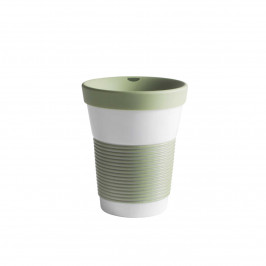Kahla cupit - Magic Grip fresh herbs To Go Becher 0,35 L mit Trinkdeckel 10x2 cm