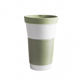 Kahla cupit - Magic Grip fresh herbs To Go Becher 0,47 L mit Trinkdeckel 10x2 cm