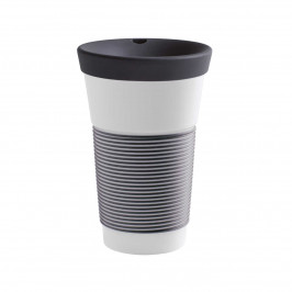 Kahla cupit - Magic Grip soft black To Go Becher 0,47 L mit Trinkdeckel 10x2 cm