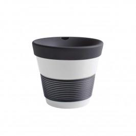 Kahla cupit - Magic Grip soft black To Go Becher 0,23 L mit Trinkdeckel 10x2 cm