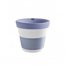 Kahla cupit - Magic Grip stormy blue To Go Becher 0,23 L mit Trinkdeckel 10x2 cm