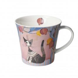 Goebel Rosina Wachtmeister - Wohnaccessoires Coffee Mug / Tea Mug Melograni in festa h: 9,5 cm / 0,35 L
