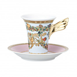 Rosenthal Versace Le Jardin de Versace Kaffee-Obertasse 0,18 L