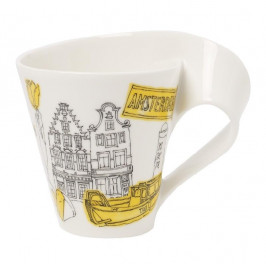Villeroy & Boch New Wave Caffè Cities of the World - Europa Becher mit Henkel - Amsterdam 0,30 L