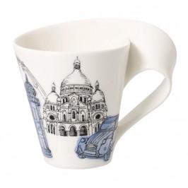 Villeroy & Boch New Wave Caffè Cities of the World - Europa Becher mit Henkel - Paris 0,30 L