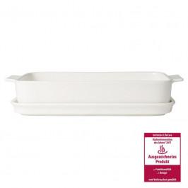 Villeroy & Boch Pasta Passion Lasagneform mit Servierplatte,4-6 Pers. 30x20 cm