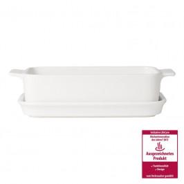 Villeroy & Boch Pasta Passion Lasagneform mit Servierplatte,1 Pers. 25x14x8 cm