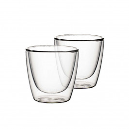 Villeroy & Boch Artesano Hot & Cold Beverages Becher Größe M - Set 2-tlg. h: 8 cm / 0,22 L