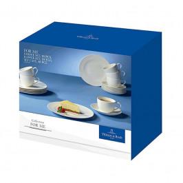 Villeroy & Boch For Me weiss Kaffee-Set 18-tlg.