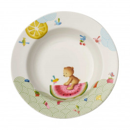 Villeroy & Boch Hungry as a Bear Kinderteller tief 19,5 cm