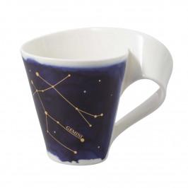 Villeroy & Boch NewWave Stars Becher mit Henkel Zwilling / Gemini 0,30 L