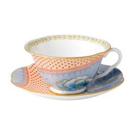 Wedgwood  'Butterfly Bloom' Teetasse Blau 2-tlg.