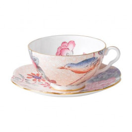 Wedgwood  'Harlequin Collection Cuckoo' Teetasse Pfirsich 0,18 L
