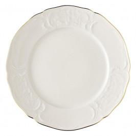 Rosenthal Sanssouci Elfenbein Gold Platzteller / Platte rund flach 31 cm