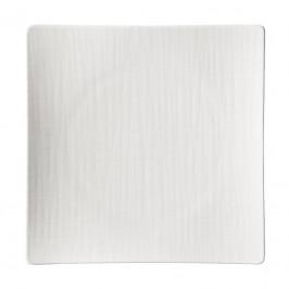 Rosenthal Mesh weiss Teller quadratisch flach 27 cm