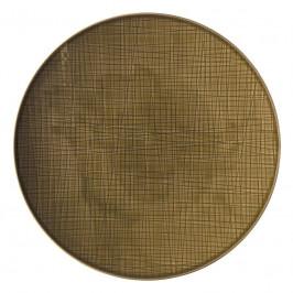 Rosenthal Mesh Walnut Teller flach 33 cm