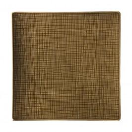 Rosenthal Mesh Walnut Teller quadratisch flach 27 cm
