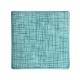 Rosenthal Mesh Aqua Teller quadratisch flach 17 cm