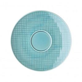 Rosenthal Mesh Aqua Cafe au Lait-/Suppen-Untertasse 18 cm