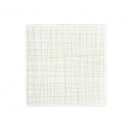 Rosenthal Mesh Line Cream Teller quadratisch flach 14 cm