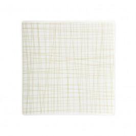 Rosenthal Mesh Line Cream Teller quadratisch flach 17 cm