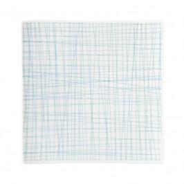Rosenthal Mesh Line Aqua Teller quadratisch flach 22 cm