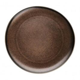 Rosenthal Junto Bronze - Steinzeug Teller flach 25 cm