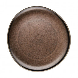 Rosenthal Junto Bronze - Steinzeug Teller flach 22 cm