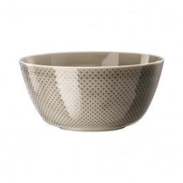Rosenthal Junto Pearl Grey - Porzellan Schüssel 22 cm / 2,30 L