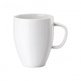Rosenthal Junto Weiß - Porzellan Becher mit Henkel 0,38 L