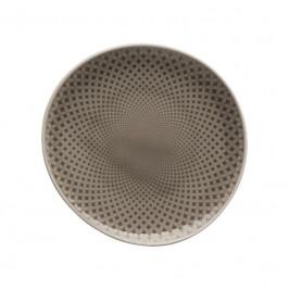 Rosenthal Junto Pearl Grey - Porzellan Teller flach 16 cm