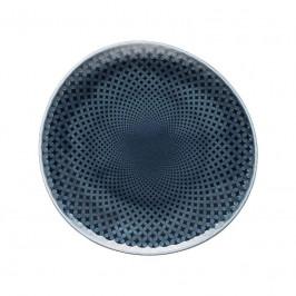 Rosenthal Junto Ocean Blue - Porzellan Teller flach 16 cm