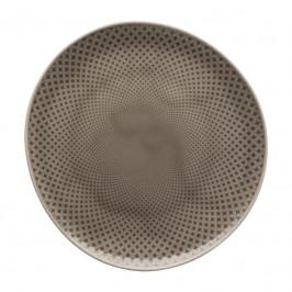 Rosenthal Junto Pearl Grey - Porzellan Teller flach 22 cm