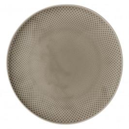 Rosenthal Junto Pearl Grey - Porzellan Teller flach 32 cm