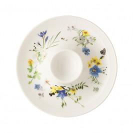 Rosenthal Brillance Fleurs des Alpes Eierbecher mit Ablage 11 cm