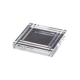 Rosenthal Geschenkserie - Bomboniere Untersetzer Nr. 3 - Blockglas 10x10 cm