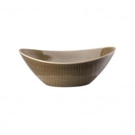 Rosenthal Mesh Walnut Schale oval 15x11 cm / 0,32 L