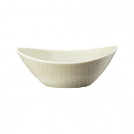 Rosenthal Mesh Cream Schale oval 20x15 cm / 0,63 L