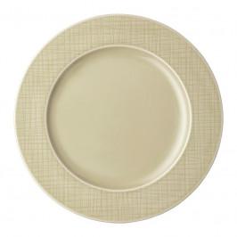 Rosenthal Mesh Cream Teller flach - Fahne 28 cm