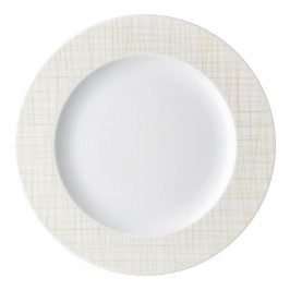 Rosenthal Mesh Line Cream Teller flach - Fahne 28 cm