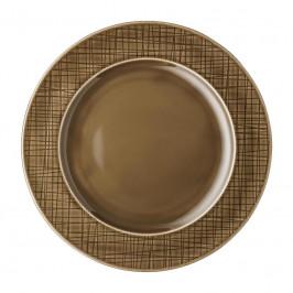 Rosenthal Mesh Walnut Teller flach - Fahne 23 cm