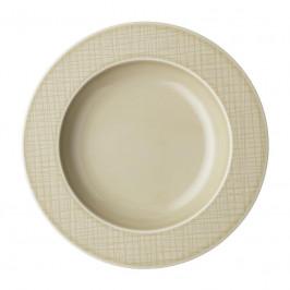 Rosenthal Mesh Cream Teller tief - Fahne 23 cm