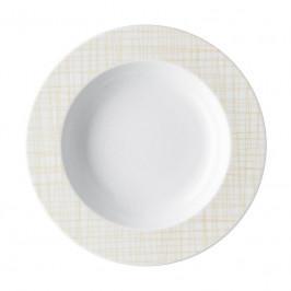 Rosenthal Mesh Line Cream Teller tief - Fahne 23 cm